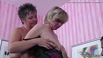 Немецкие женщины сексом с человеком который только что переехал в их район