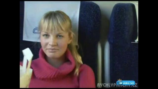 Сняла проститута в поезде